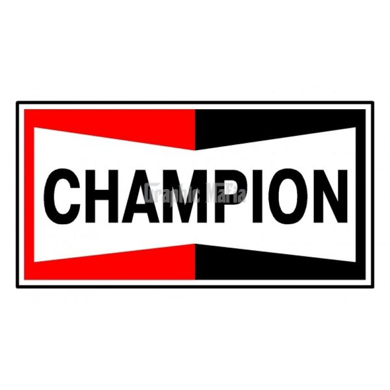 Champion Logo - Champion Logo Decal