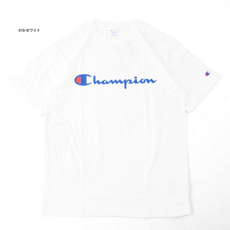 Champion Logo - RAIDERS: Champion Champion Basic T shirt logo C3-H374 short sleeve T ...