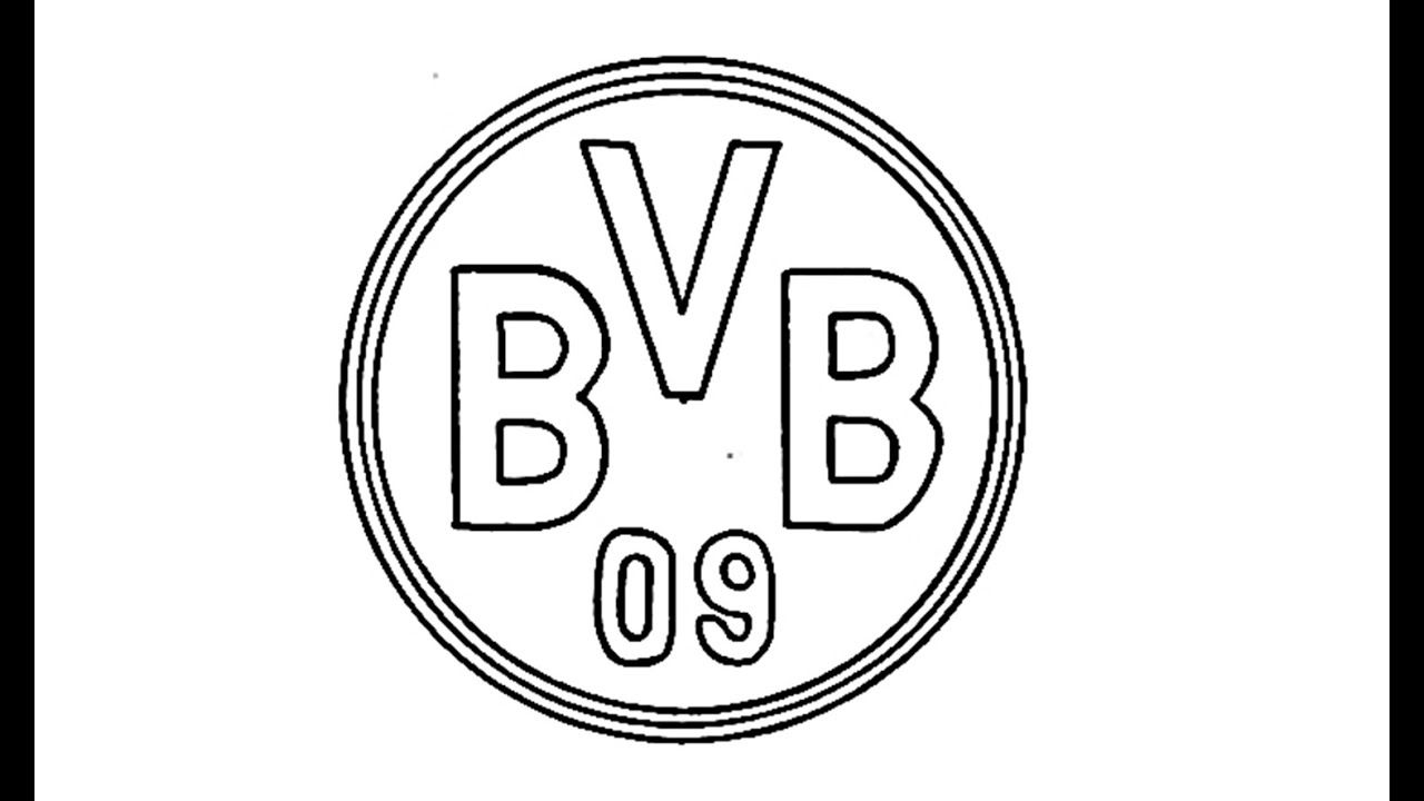 Borussia Dortmund Logo Black And White