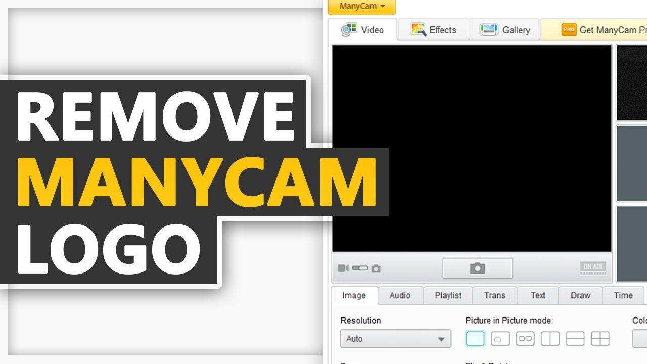 How To Remove Manycam Logo