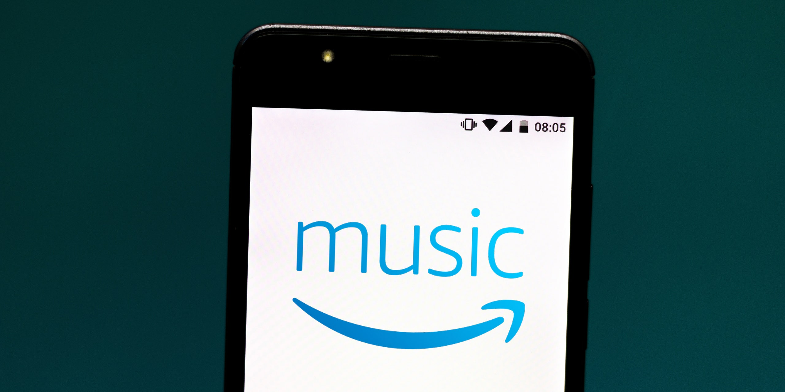 Amazon Music Logo - Amazon Music Launches High-Fidelity Streaming | Pitchfork