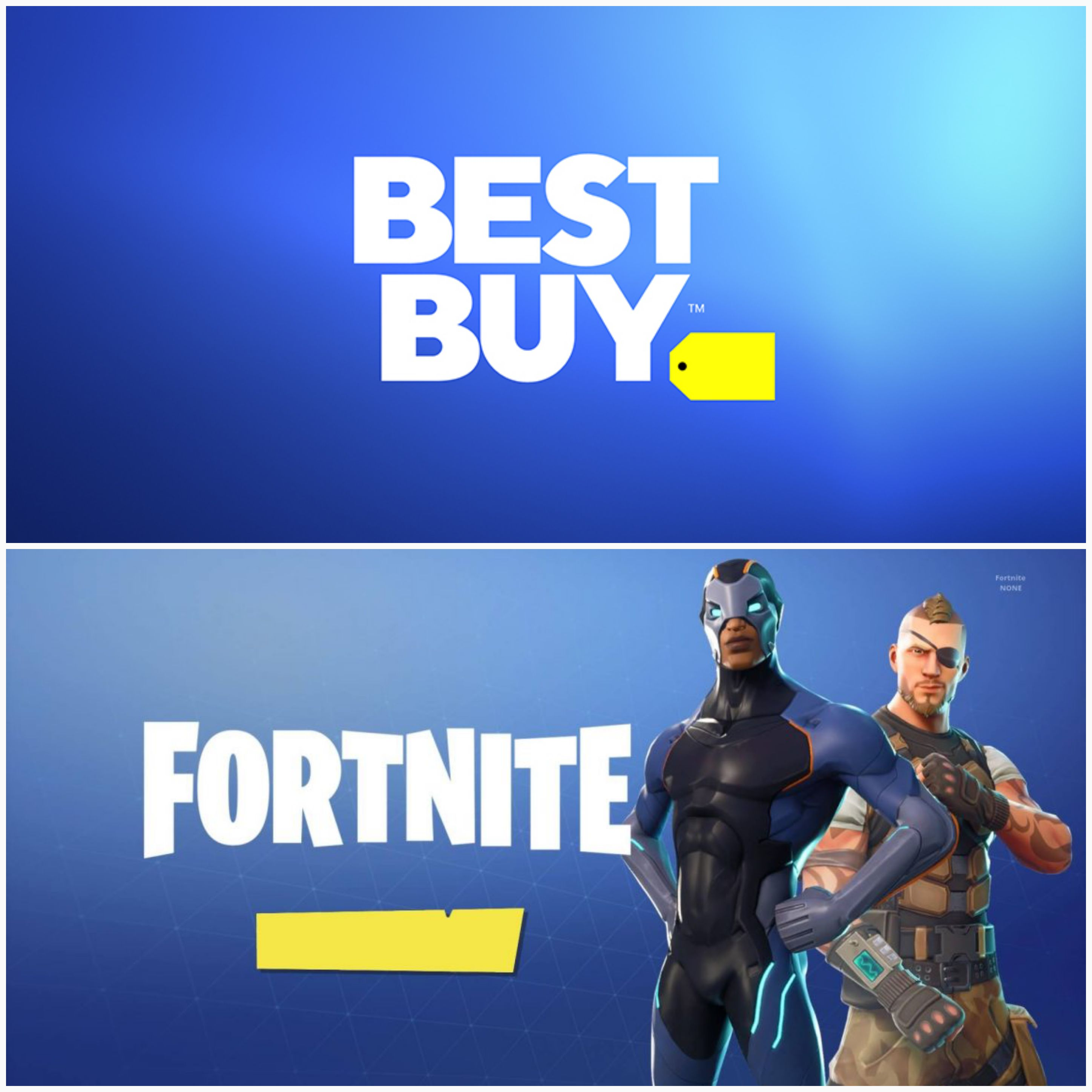 Best Buy Logo - Wait a second, this new Best Buy logo looks familiar? : FortNiteBR