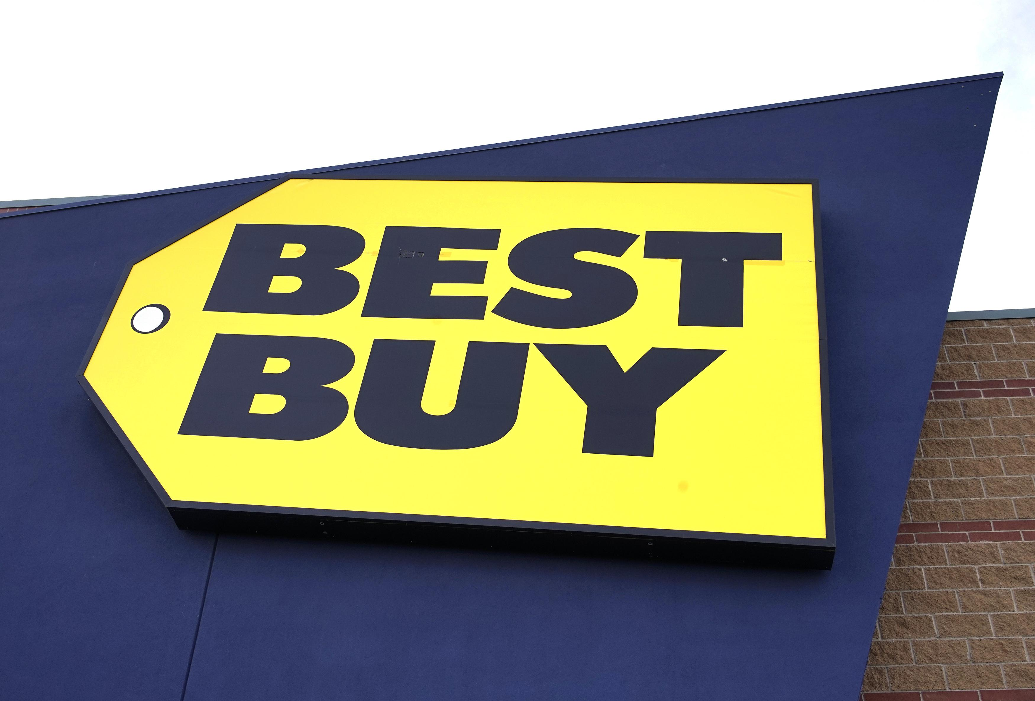 Best Buy Logo - Best Buy keeps full-year view, warns of higher prices from more ...