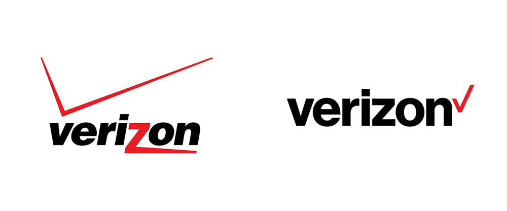 Verizon Logo - Brand New: New Logo for Verizon by Pentagram