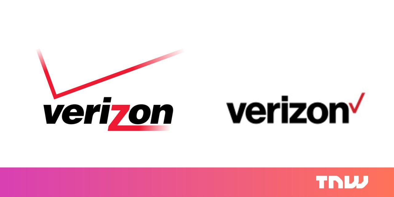 Verizon Logo - Verizon apparently has a new logo and... well, you be the judge ...