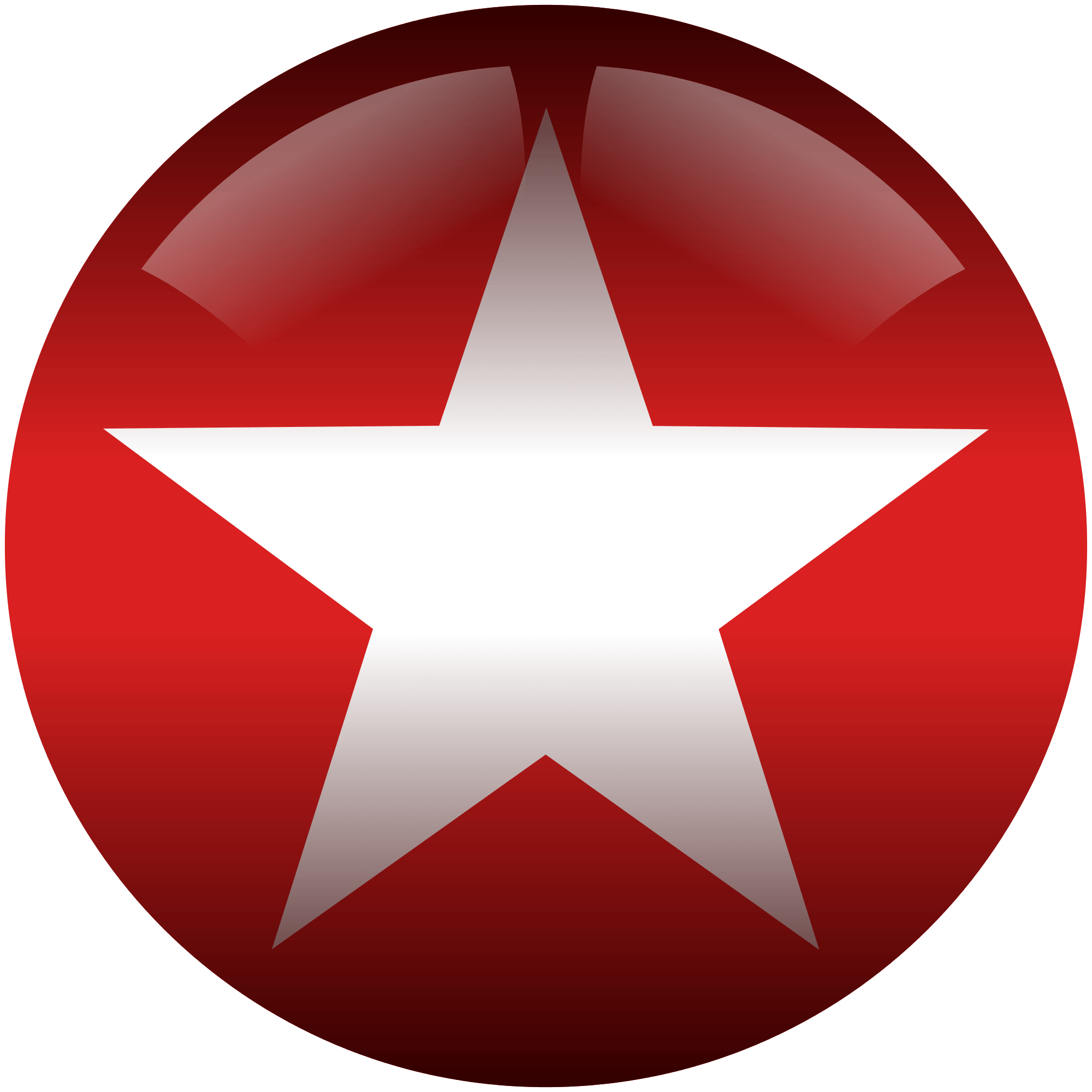 Star Symbol in Circle Logo - File:White star in red circle.svg - Wikimedia Commons