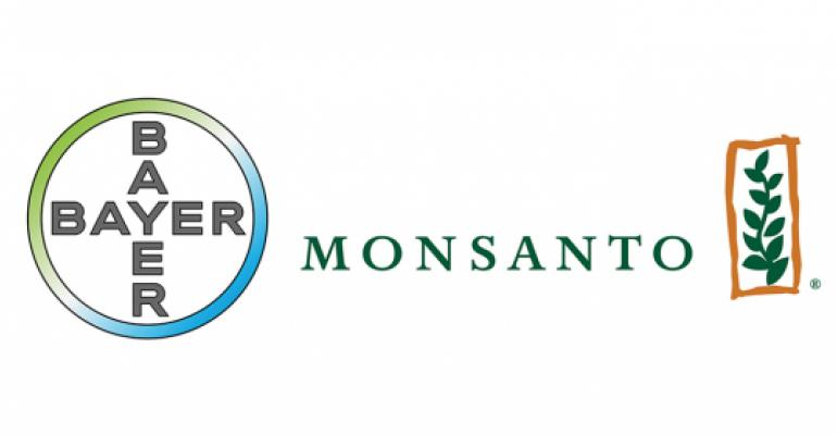 Monsanto Logo - DOJ grants US approval of Bayer, Monsanto merger | Feedstuffs