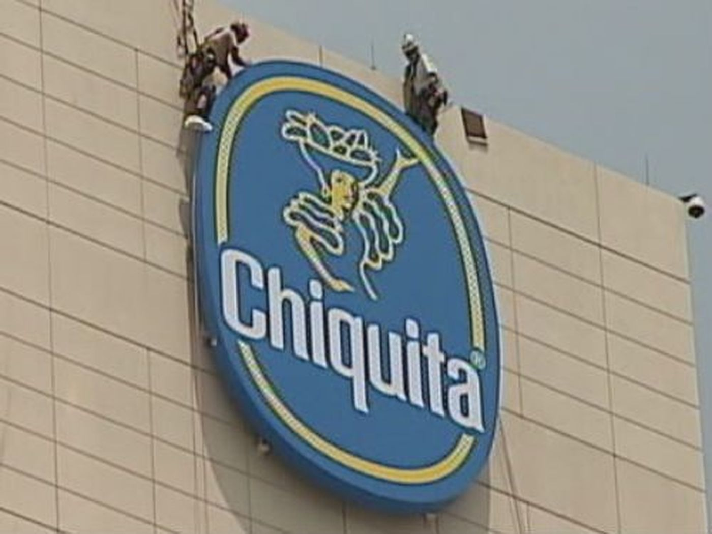 Chiquita Logo - Chiquita logo makes it's mark in uptown Charlotte