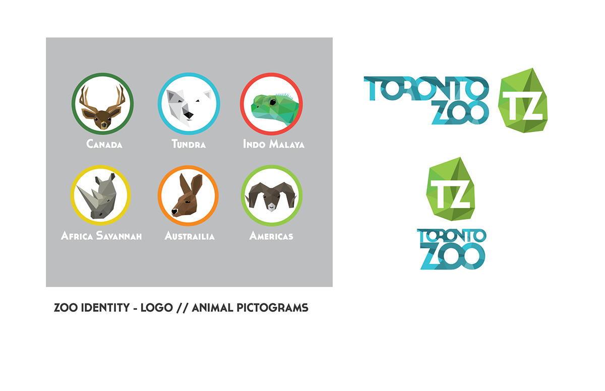 Toronto Zoo Logo - Toronto Zoo re-brand on Behance