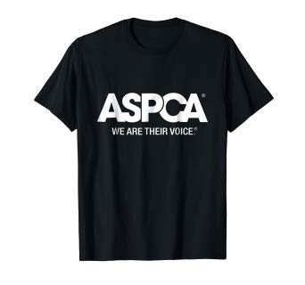 ASPCA Logo - Amazon.com: ASPCA We Are Their Voice Logo T-Shirt: Clothing