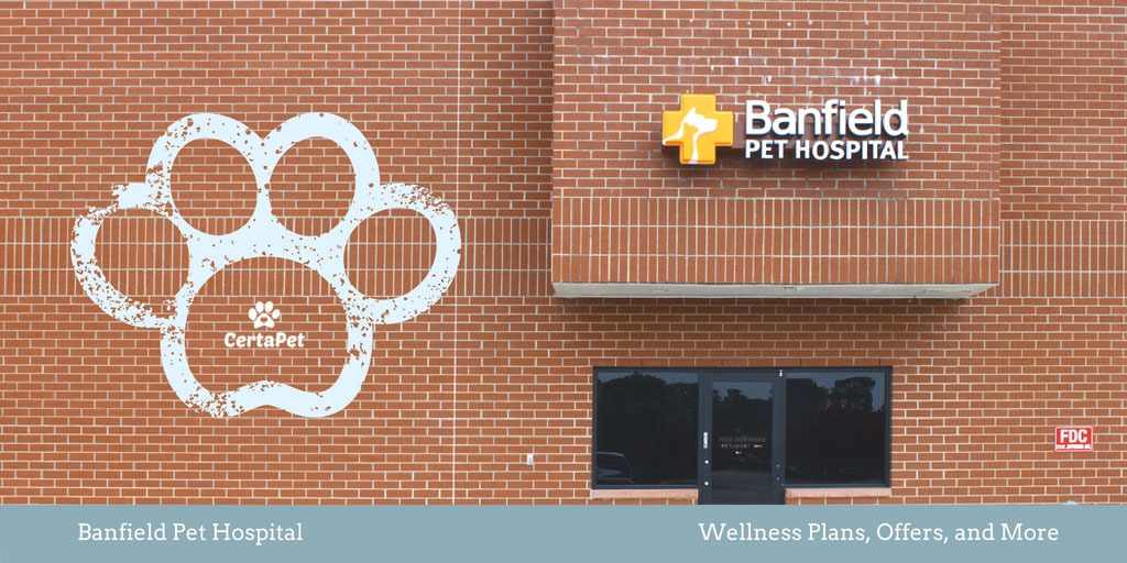 Banfield Pet Hospital Logo - Banfield Pet Hospital Wellness Plans, Offers, and More | CertaPet