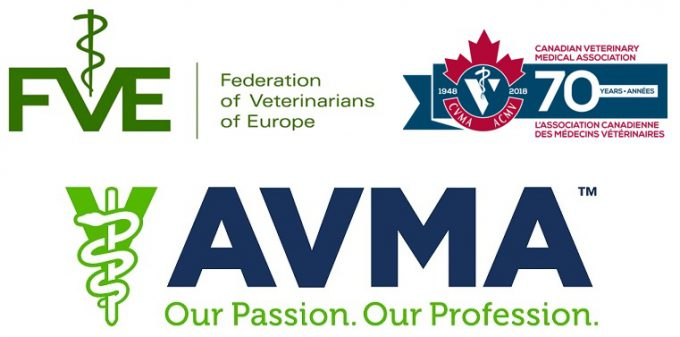 American Veterinary Medical Association Logo - Joint statement outlines steps veterinarians in N. America, Europe ...