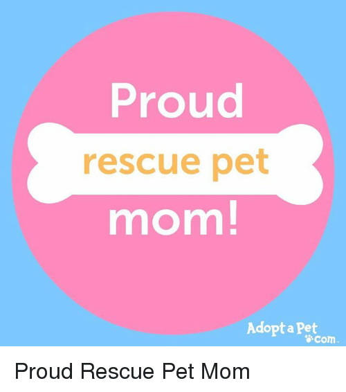 Adopt-a-Pet.com Logo - Proud Rescue Pet Mom! Adopt a Pet Com Proud Rescue Pet Mom | Meme on ...