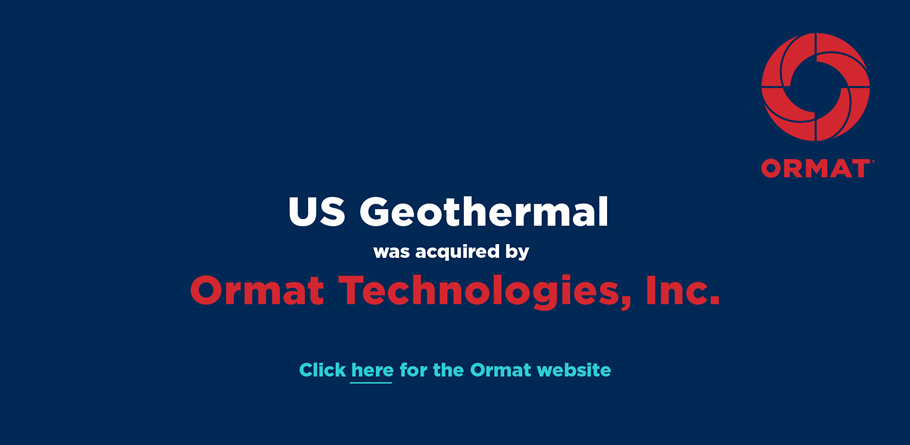 Ormat Logo - Home | US Geothermal, Inc.