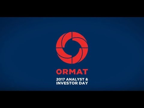 Ormat Logo - Ormat: a Tradition of Energy Excellence. 2017 Analyst Day (NYSE:ORA ...