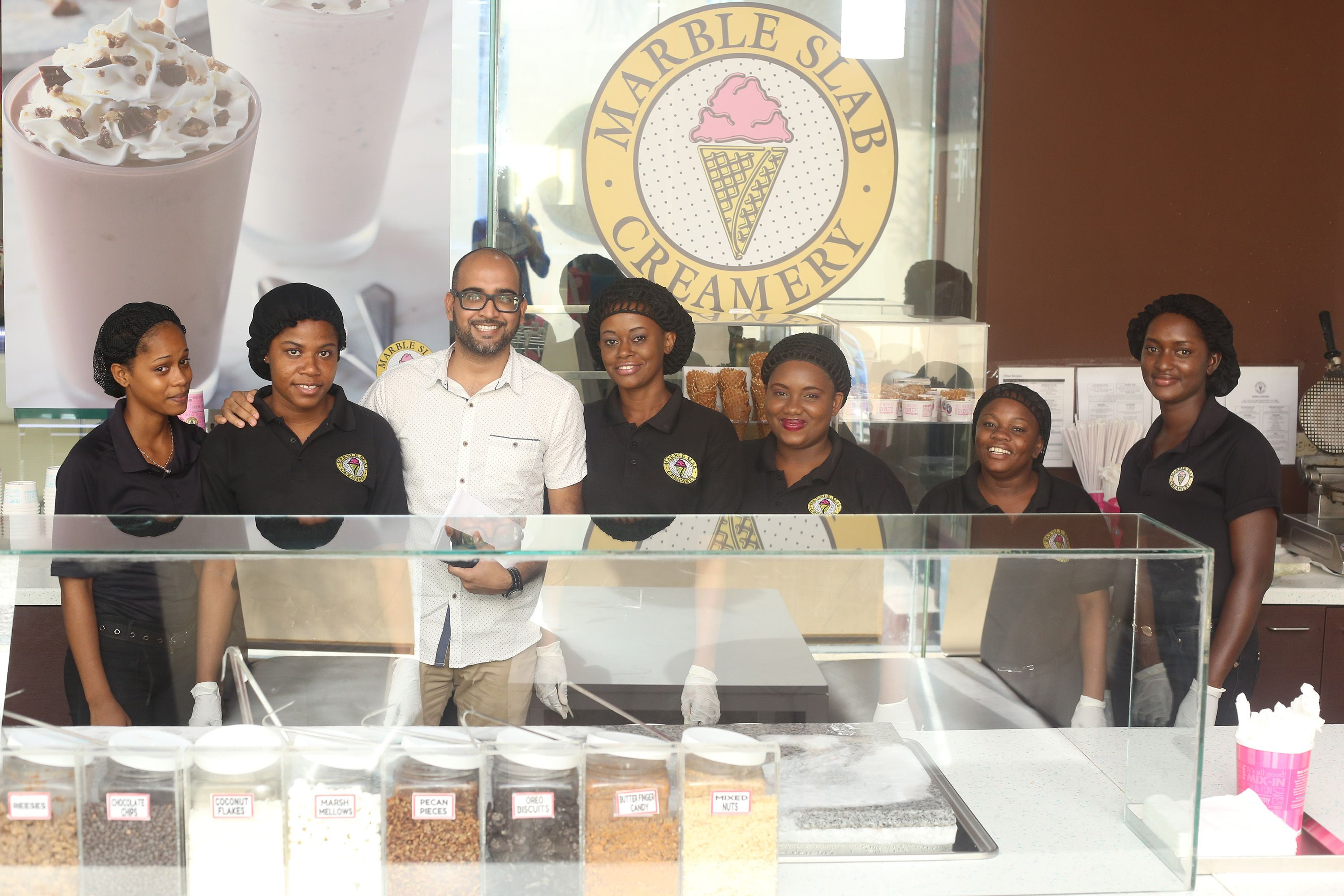 Marble Slab Logo - Marble Slab launches Camp St outlet – Stabroek News