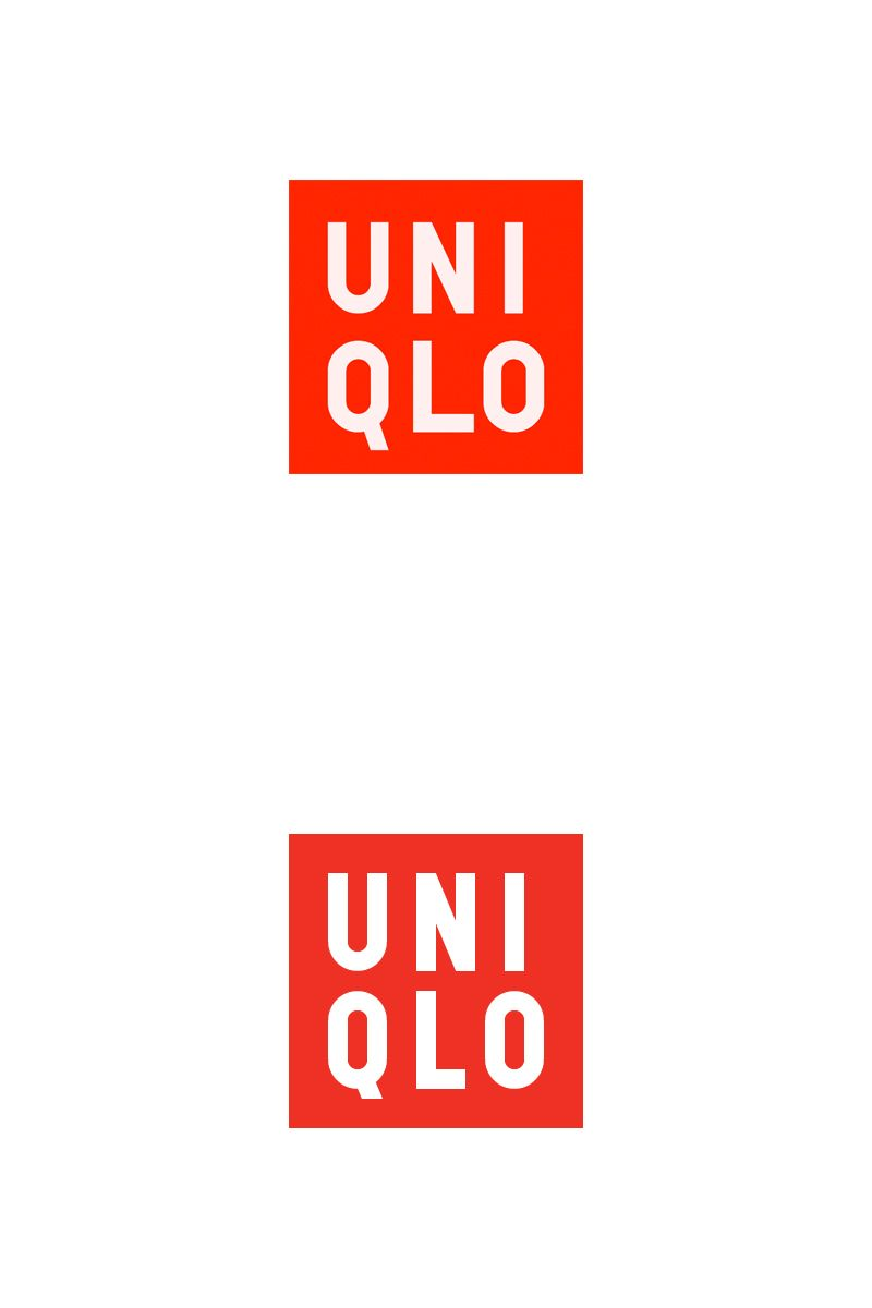 Uniqlo Logo - Dribbble - uniqlo-logo-current-vs-new.jpg by Lassi Vehviläinen