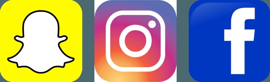 Find Us On Facebook and Instagram Logo - LogoDix