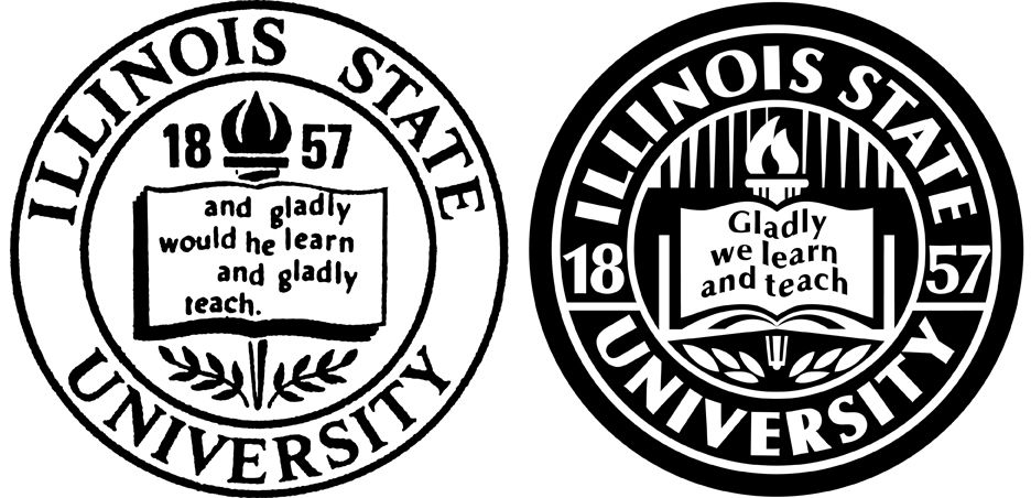 Illinois State University Logo - Digging through the archives: Vintage Illinois State logos ...