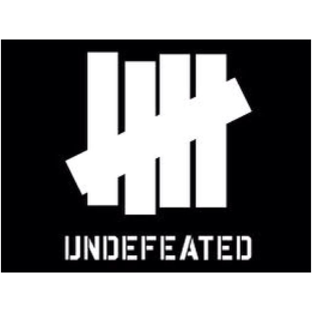 Undefeated Logo - 5 strikes tally. Undefeated logo | Symbols | Wallpaper, Iphone ...