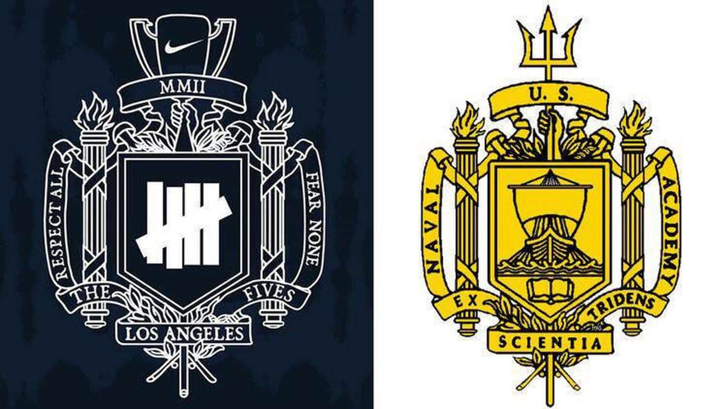 Undefeated Logo - U.S. Naval Academy demands Nike stop using Undefeated logo that ...
