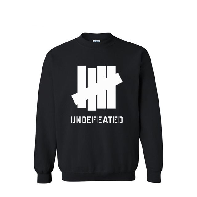 Undefeated Logo - Qiu dong with popular logo sets Undefeated long sleeved fleece men's ...