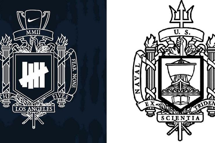 Undefeated Logo - Naval Academy Demands Nike Stop Using Undefeated Logo