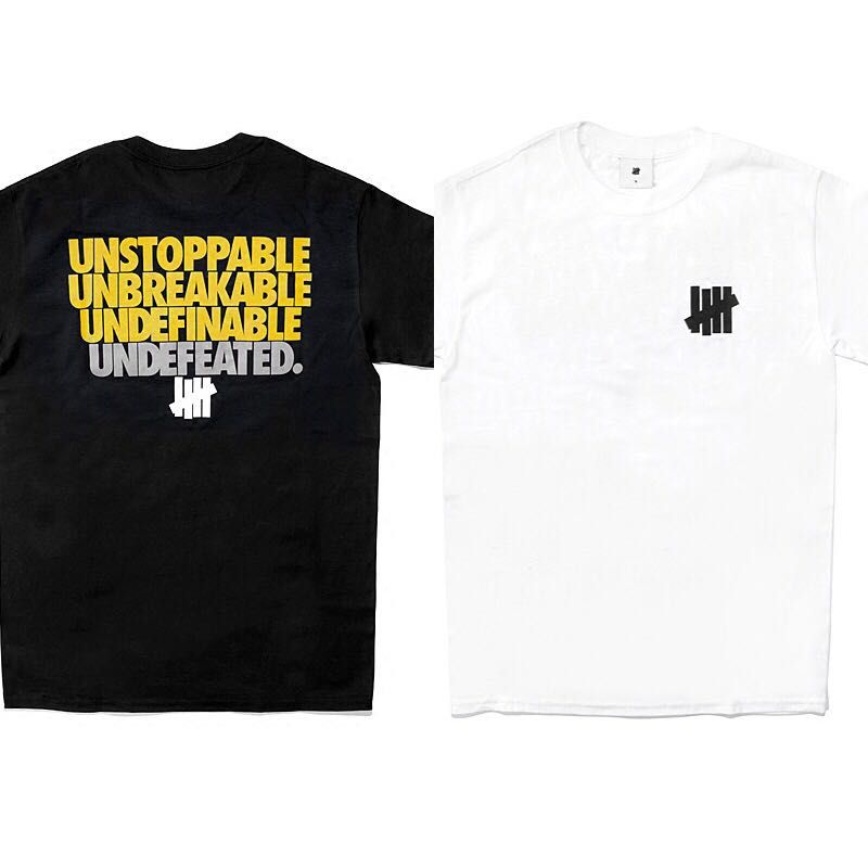 Undefeated Logo - PO - Undefeated logo tee, Men's Fashion, Clothes, Tops on Carousell