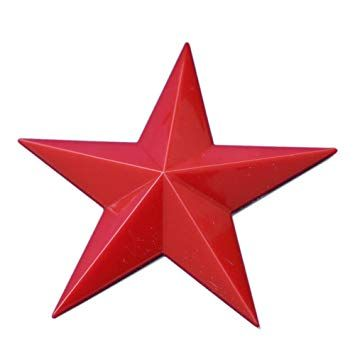 The Red Point Star Logo - Amazon.com: 3.5