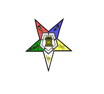 The Red Point Star Logo - EASTERN STAR WATCH - What do the colors and symbols on its pentagram ...