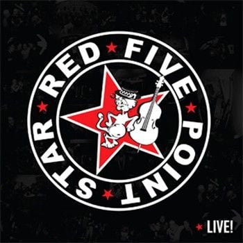 The Red Point Star Logo - Moonlee Records Store Red Five Point Star