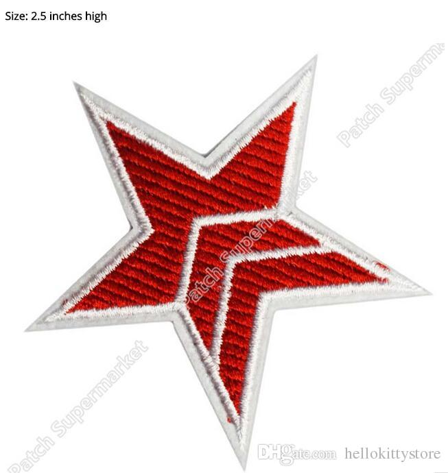 The Red Point Star Logo - 2019 MASS EFFECT COSPLAY N7 Red Five Point Star Costume TV Movie ...