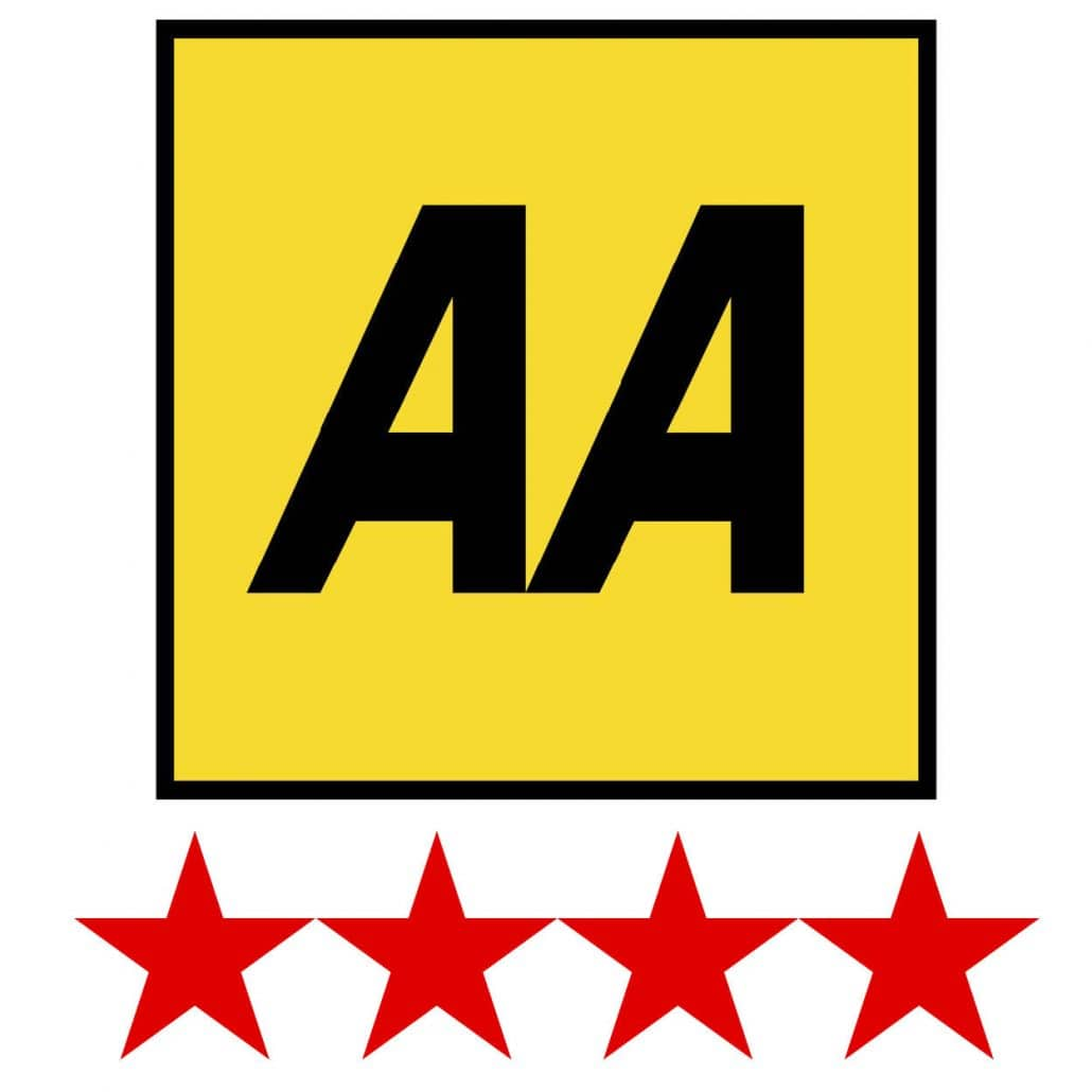 The Red Point Star Logo - Harvey's Point Wins Prestigious AA Red Star Award