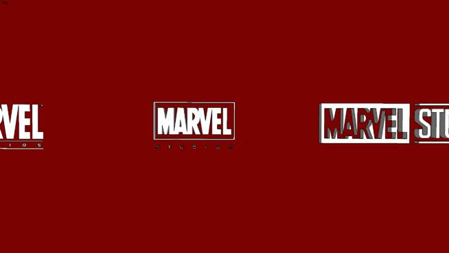 Marvel Logo - Marvel Studios Logos | 3D Warehouse
