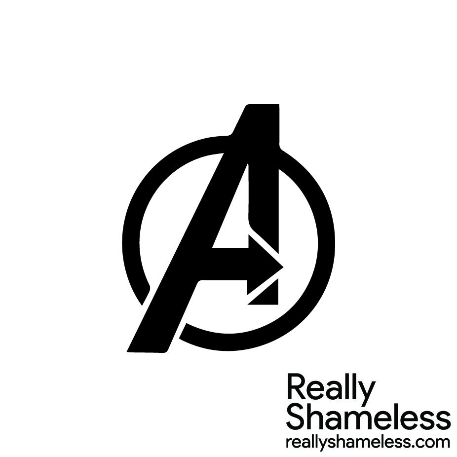 Marvel Logo - Marvel] Avengers Logo - Really Shameless