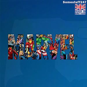 Marvel Logo - Avengers, Super Heroes Characters, Marvel Logo-Color Car decal ...
