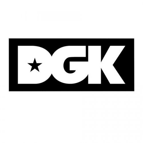 DGK Logo - DGK Skateboards DGK Logo Sticker - 4