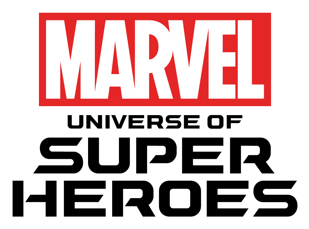 Marvel Logo - MARVEL: The Universe of Super Heroes press kit | Museum of Pop Culture