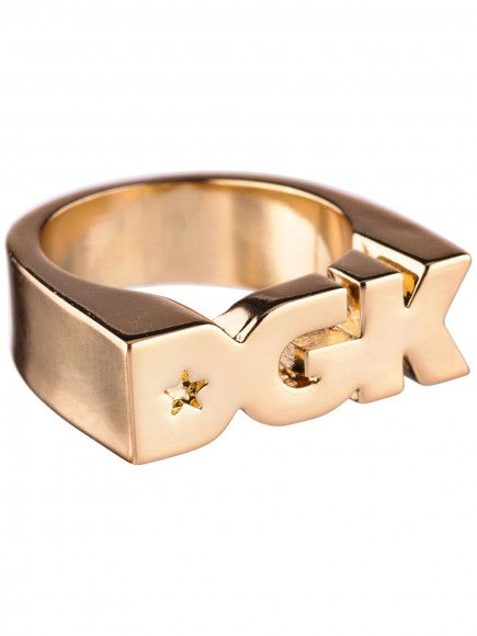 DGK Logo - DGK Logo Ring Gold