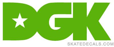 DGK Logo - 2 DGK Skateboards Stickers Decals [dgk-logo] - $3.95 : Acadame V1.0 ...