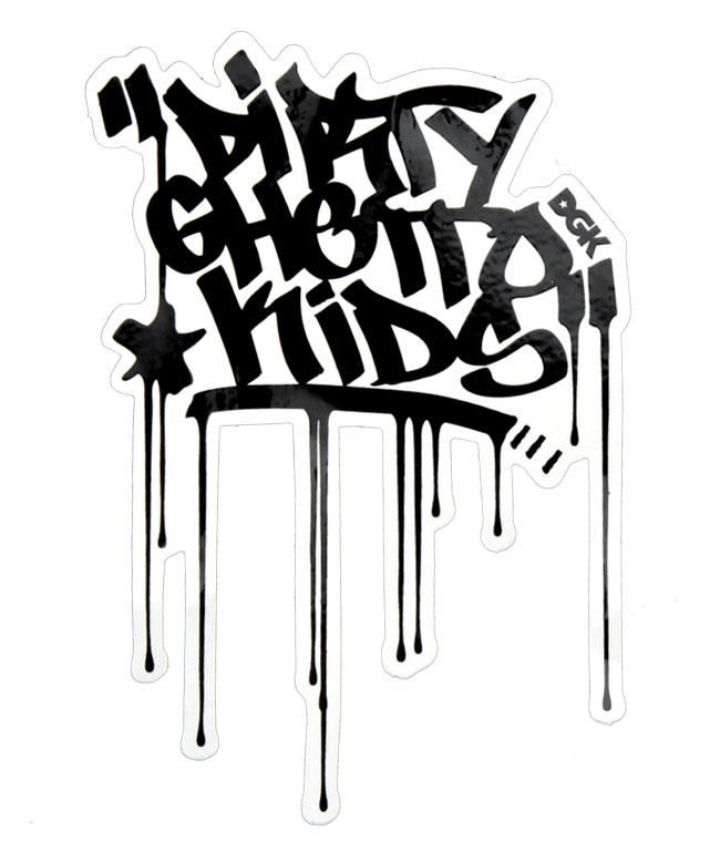 DGK Logo - DGK = Dirty Ghetto Kids | Logos | Pinterest | Artwork, Art and Graffiti