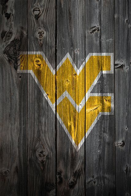 West Virginia University Logo - West Virginia Mountaineers Wood iPhone 4 Background | Better me ...