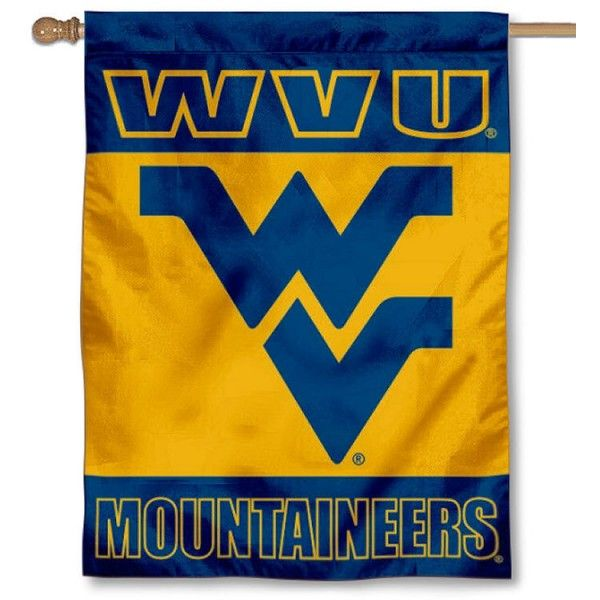 West Virginia University Logo - West Virginia University Logo House Flag your West Virginia ...