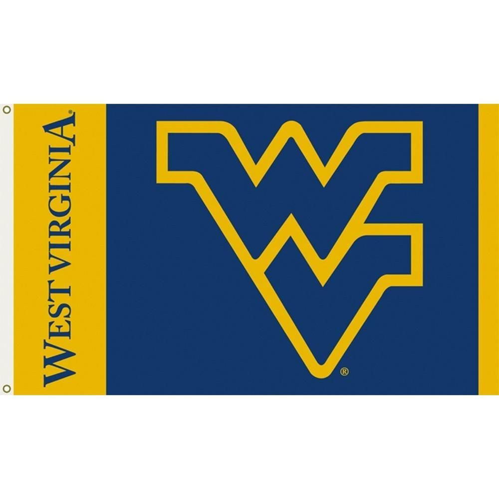West Virginia University Logo - West Virginia University Interlock Logo Flag – Zokee