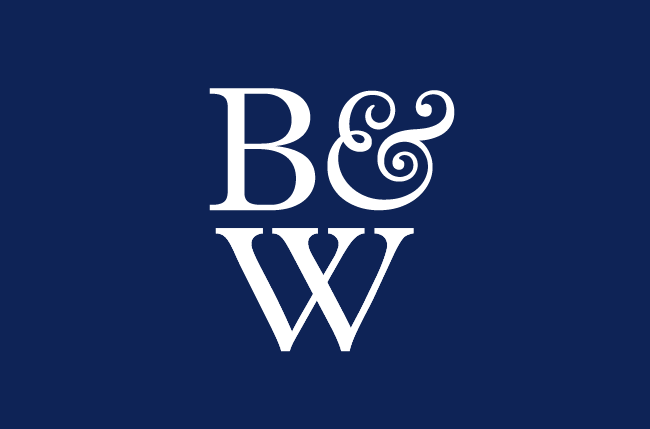 Blue and White Brand Logo - Blue & White Company - Franks and Franks