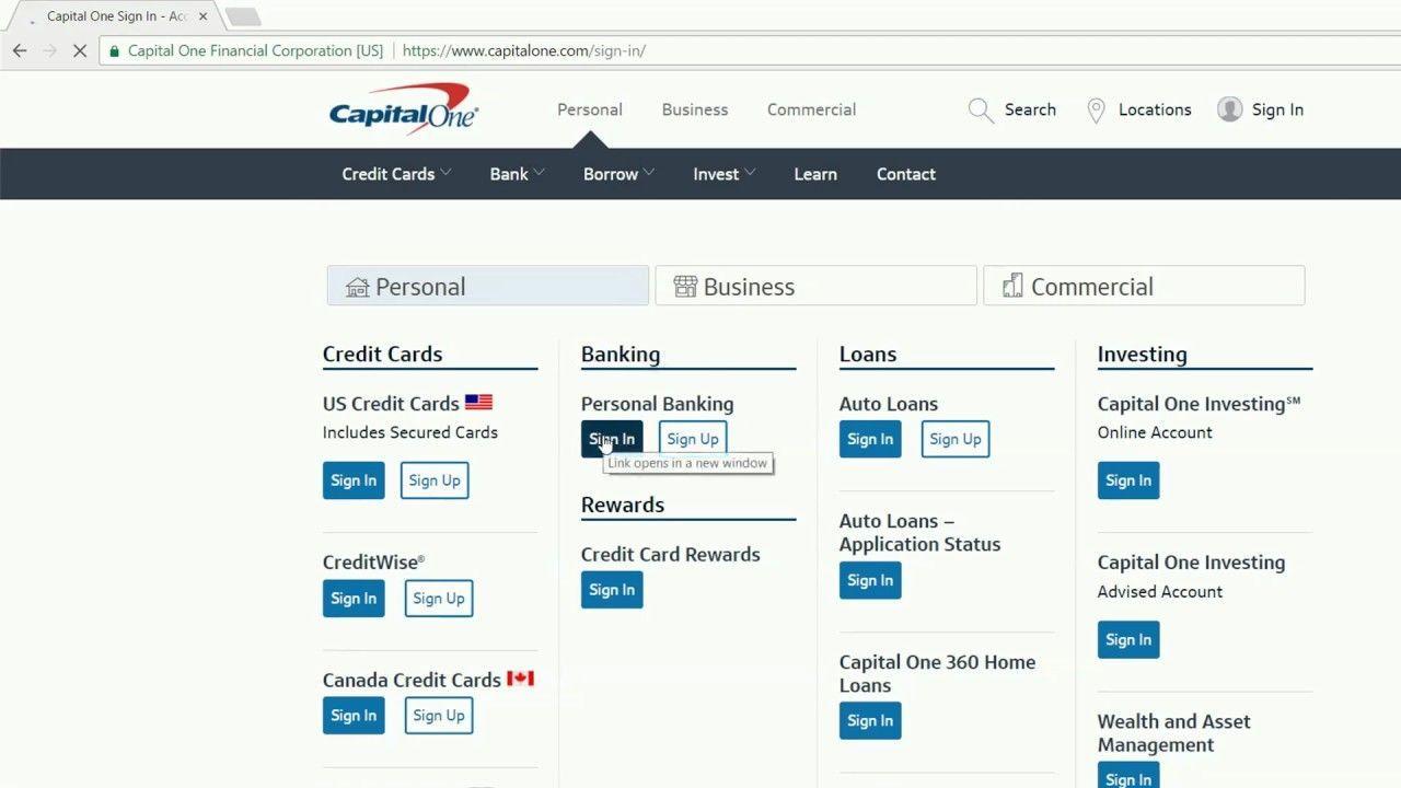 Capital One Financial Logo - LogoDix