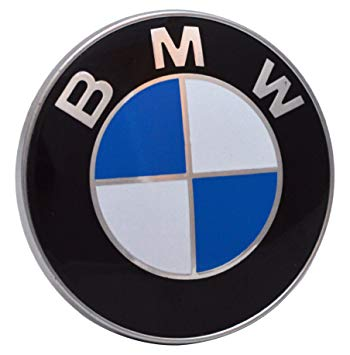 BMW Logo - BMW 435435435 Bonnet Boot Hood Emblem 2 pin Badge 82mm 1 3 5 7 ...