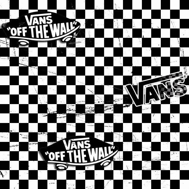 Checkered Vans Logo - LogoDix