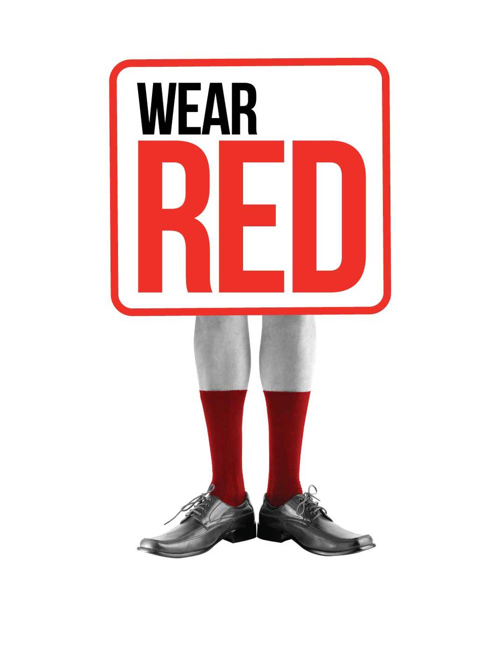 RedR Logo - Wear Red for RedR — Peraux Design
