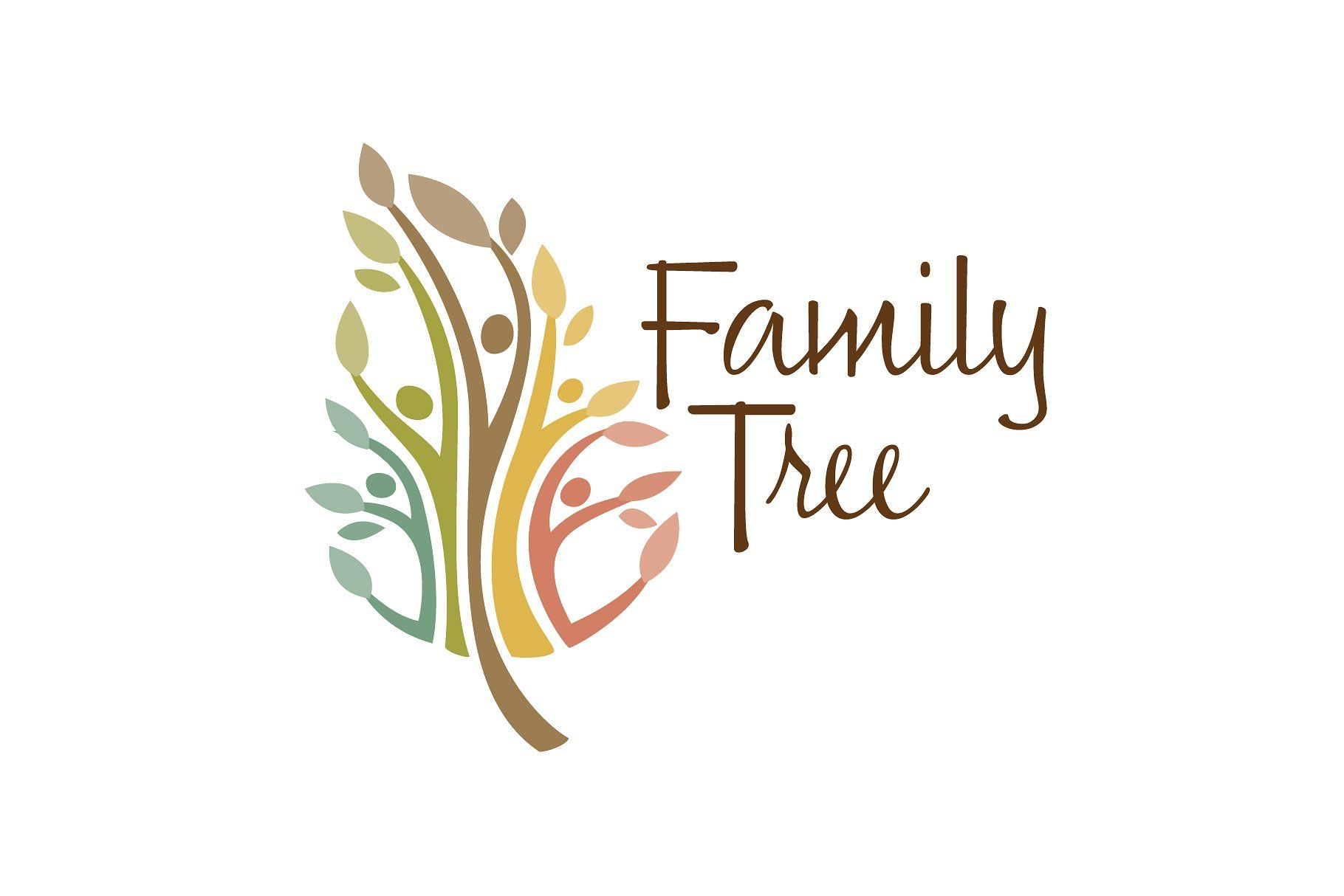 Family Tree Logo - Family Tree ~ Logo Templates ~ Creative Market